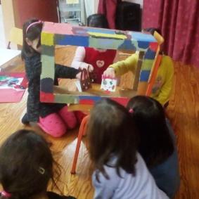 Παίξαμε κουκλοθέατρο με τα αγαπημένα μας ζώα [Θεματική ενότητα: Ζώα]